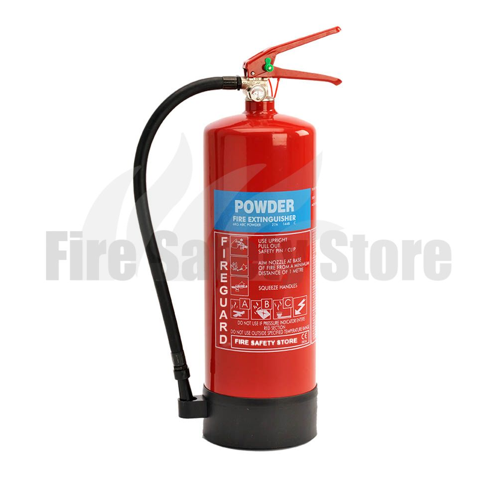 Fireguard 6kg Abc Dry Powder Fire Extinguisher Fire
