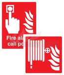 Self Adhesive Fire Equipment Signs