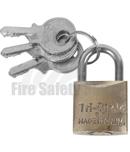 Fire Cabinet Padlocks & Keys