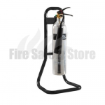 FireChief Tubular Black Single Stand