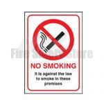 No Smoking Sign (Self Adhesive)