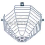 Smoke & Heat Detector Cage - STI 9610 Web Stopper® (Surface Mount)
