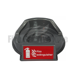 Single Grey Fire Extinguisher Point