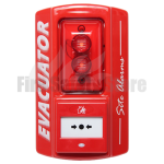 Evacuator Sitemaster Call Point Operated Alarm