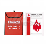 A4 Log Book & Document Pouch Pack