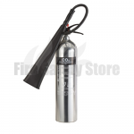 Contempo Polished 5Kg Co2 Fire Extinguisher
