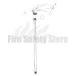 FireGuard 6Ltr Water / Water Additive / AFFF Foam Replacement Fire Extinguisher Valve Assembly