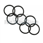 Black 2Kg Co2 Swivel Horn O' Ring (Pack of 120)