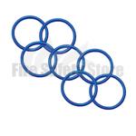 Blue 2Kg Co2 Swivel Horn O' Ring (Pack of 125)