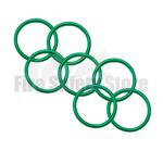 Green 2Kg Co2 Swivel Horn O' Ring (Pack of 120)