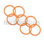 Orange 2Kg Co2 Swivel Horn O' Ring (Pack of 120)