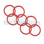 Red 2Kg Co2 Swivel Horn O' Ring (Pack of 125)