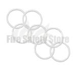White 2Kg Co2 Swivel Horn O' Ring (Pack of 125)