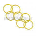 Yellow 2Kg Co2 Swivel Horn O' Ring (Pack of 120)