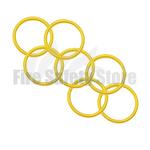 Yellow 2Kg Co2 Swivel Horn O' Ring (Pack of 125)