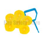 FireChief Yellow Ok Indicators & Blue Pin (Pack Of 25)