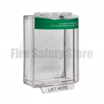 Green STI-13110EG Surface Mount Universal Emergency Stopper