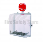 STI AED Cabinet with Backplate, Adjustable Wire Shelf, Siren Alarm and Thumb Lock - STI-7533AED