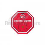 Red STI-6255/M2 Double Point Fire Extinguisher Mini Theft Stopper