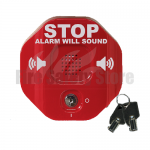 Red STI-6405 Exit Stopper Multi-function Door Alarm