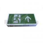 LED Maintained Double Sided Exit Box with Up Arrow Legend