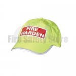High Visibility Fire Warden Cap
