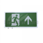 LED Maintained Exit Box with Up Arrow Legend
