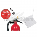 STI-6200WIR8 Wireless Fire Extinguisher Stopper Includes 8-Channel Receiver STI-34108