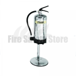 9kg / 9ltr Stainless Steel Single Extinguisher Metal Stand