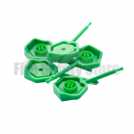Green Universal 4mm Fire Extinguisher Safety Pins (Pack of 25)