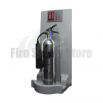 Single Grey Modular Flat Pack Fire Extinguisher Stand
