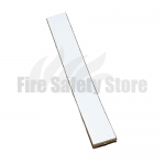 White 38mm x 4mm x 2020 Rebated Intumescent Fire Seal