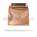 FireGuard Anti-Arson Fire Protective Mail Bag With Extinguisher Tube - Brown