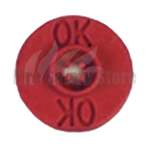 Chubb Red Ok Indicator (Pack Of 25)