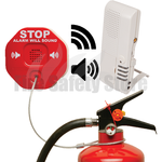 STI-V6200WIR4 Wireless Fire Extinguisher Stopper Includes 4-Channel Voice Receiver