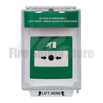 Green STI-13010EG Flush Mount Universal Emergency Stopper
