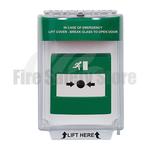 Green STI-13020EG Flush Mount Universal Emergency Stopper with Sounder