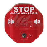 Red STI-6400 Wireless Exit Stopper Multi-function Door Alarm