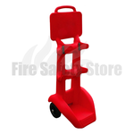 Jonesco FireKart Double Fire Extinguisher Trolley