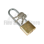 40mm Long Shackle Brass Padlock