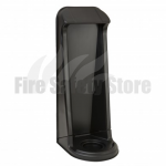 FireChief Single Matt Black Fire Extinguisher Stand