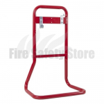 FireChief Tubular Double Fire Extinguisher Stand - Red