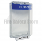 Blue STI-13020CB Flush Mount Universal Fire Alarm Stopper with Sounder