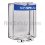 Blue STI-13110CB Surface Mount Universal Fire Alarm Stopper