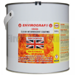 Envirograf HW02E Clear intumescent Coating (Clear System)