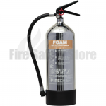 FireChief 1818 Polished Chrome 6 Litre Foam Extinguisher