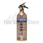 FireChief 1818 Polished Copper 1kg ABC Powder Extinguisher