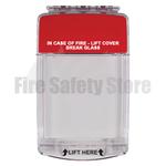 Euro Stopper STI-15010ML Flush Mount Multi Kit Red