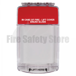 Euro Stopper STI-15020ML Flush Mount Multi Kit with Sounder Red