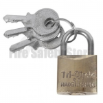 20mm Brass Padlock - Keyed Alike